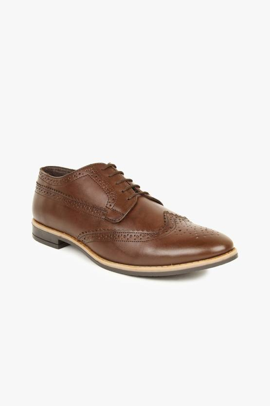 Alpes Martin Lace Up Shoes For Men - Buy Brown Color Alpes Martin ... a5f5897ed78cc