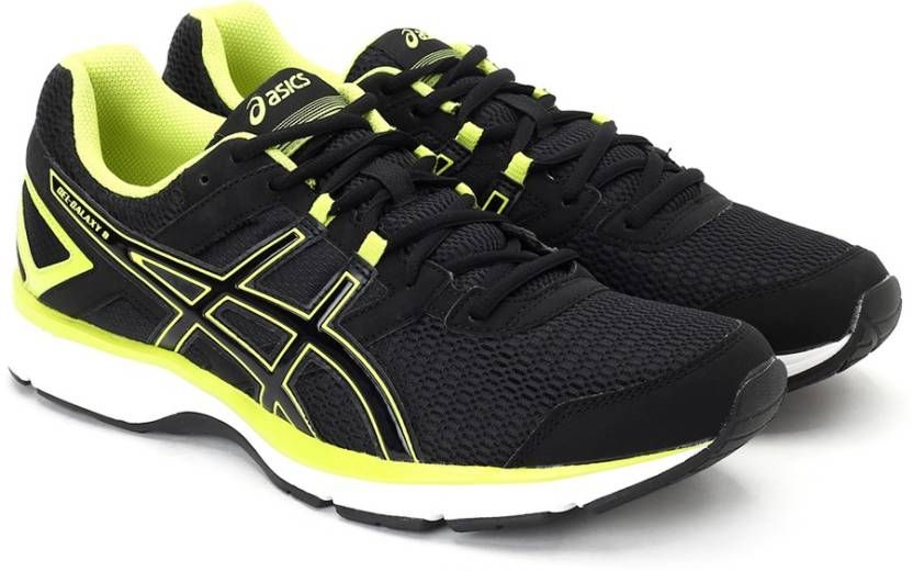 various colors 3a863 f69dd Asics Gel-Galaxy 8 Men Running Shoes For Men (Black, Green)