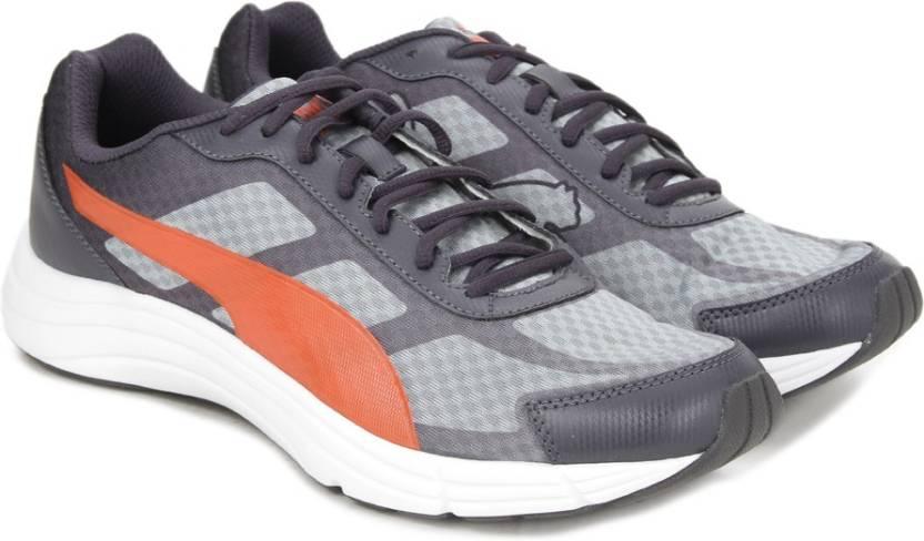 Puma Expedite Running Shoes For Men - Buy quarry-periscope-orange ... 7316b12ec