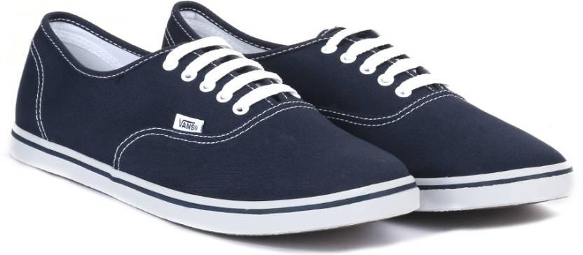 Vans AUTHENTIC LO PRO Sneakers For Men - Buy NAVY TRUE WHITE Color ... c35cd7847b