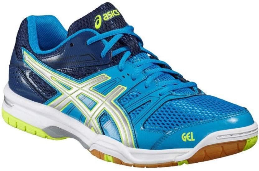 f4a92e30e89f Asics Gel-Rocket 7 Men Badminton Shoes For Men - Buy Blue Jewel ...
