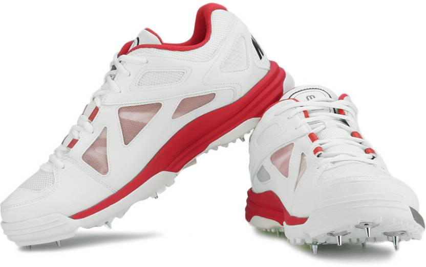 new concept 2a5cf cac59 Nike Lunar Dominate Cricket Shoes For Men (Red, White)