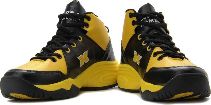 025f82f38b2450 Vector X Slamdunk Basketball Shoes For Men - Buy Yellow