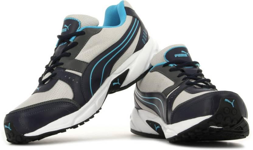 10ddbd5d13703c Puma Argus DP Men Running Shoes For Men - Buy 01, Puma Silver ...