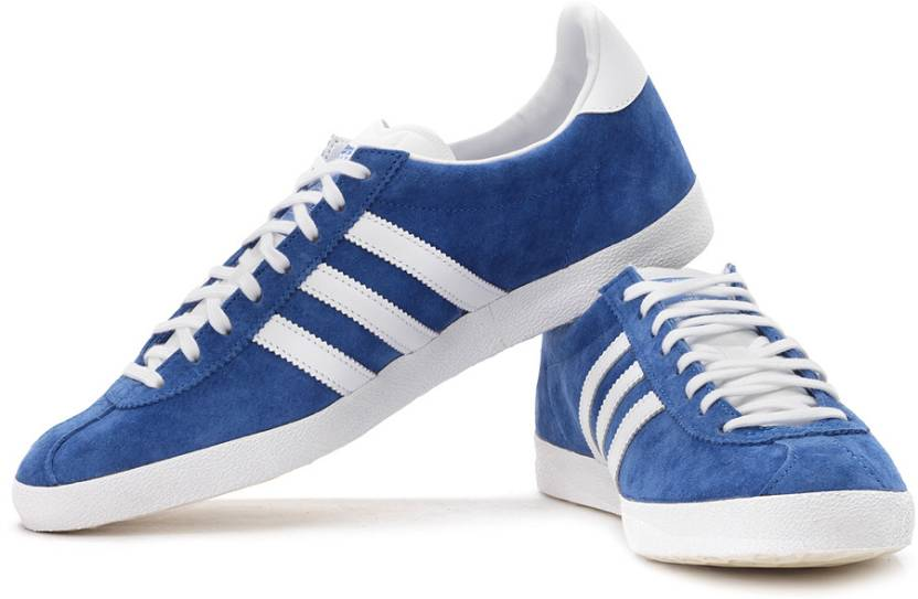 For Gazelle Adidas Og Men White Sneakers blue 8zSqx7