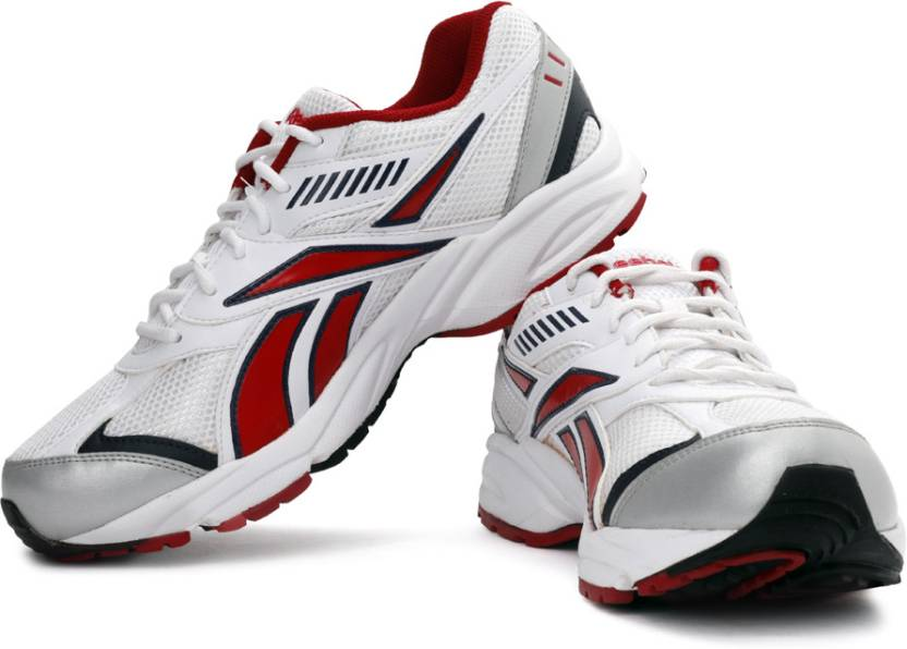 huge discount 69f33 dfd49 REEBOK Active Sport LP Running Shoes For Men (White, Red)