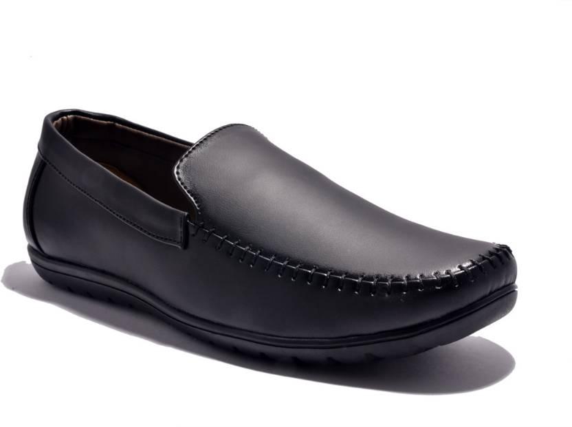 5b1e84e6d1f Sir Corbett Rubber Loafers For Men - Buy Black Color Sir Corbett ...