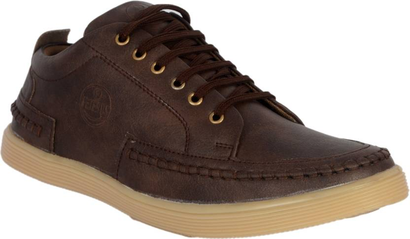 6239e09543a Shoegaro Sneakers For Men - Buy BROWN Color Shoegaro Sneakers For ...