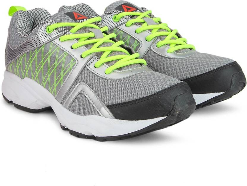 REEBOK SMOOTH FLYER 2.0 Running Shoes For Men - Buy GRY SLVR YLLW ... 08e25dd808