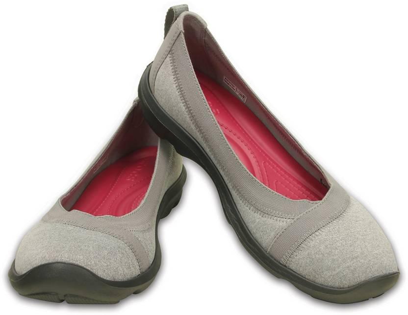 0efa339cdb Crocs Busy Day Heathered Flat Casuals For Women - Buy 203476-007 ...