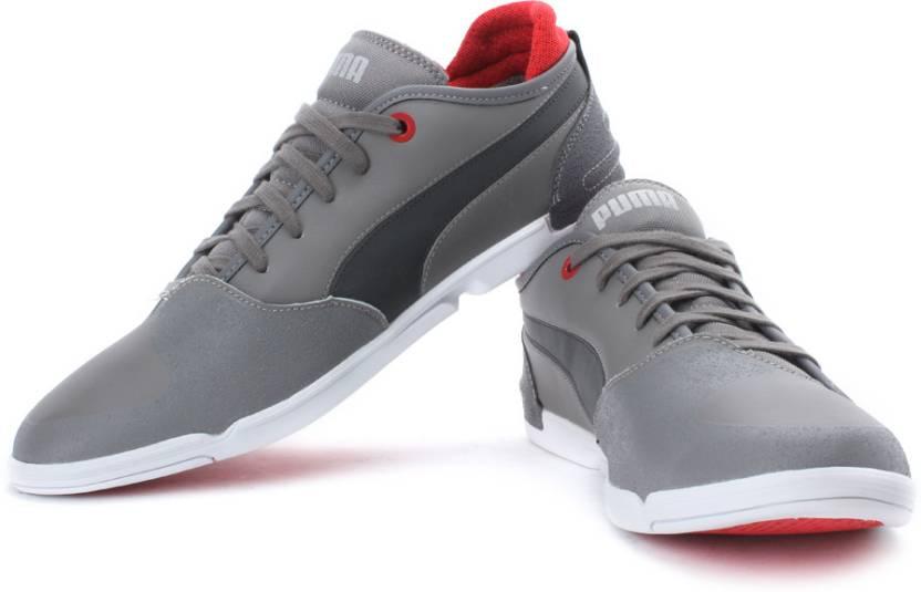 58c9f39e625 Puma Xelerate Low Ducati NM Sneakers For Men (Grey)