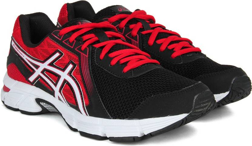 Asics Men's Gel Impression 8 Running scarpa BlackWhiteFiery Red