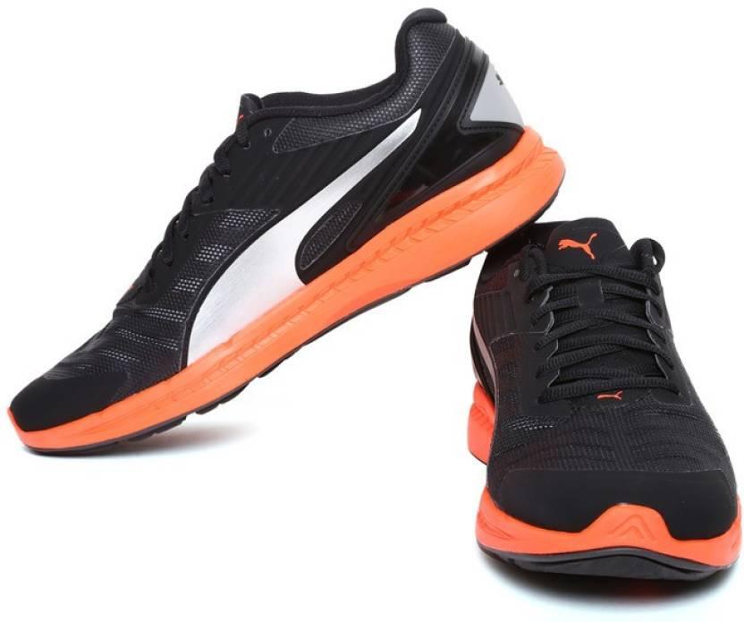 f3f42839b736d7 Puma IGNITE v2 Running Shoes For Men - Buy Black-Asphalt-Red Blast ...