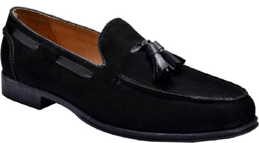972f02e04d1 Hirel s Men Black Tassel Mocassion Loafers For Men - Buy Black Color ...