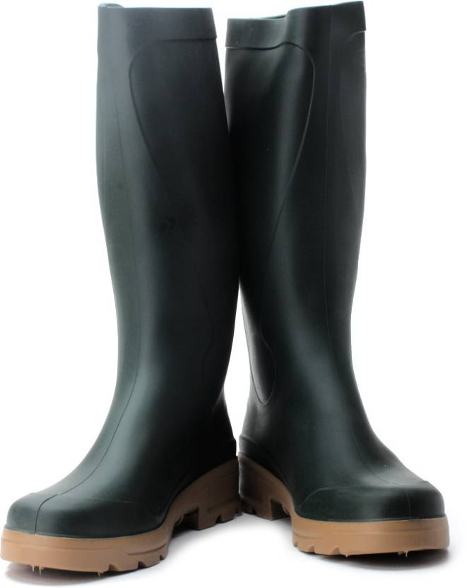 88ce017539568 Solognac by Decathlon WELLIES INV 100 Gumboots For Men - Buy Green ...
