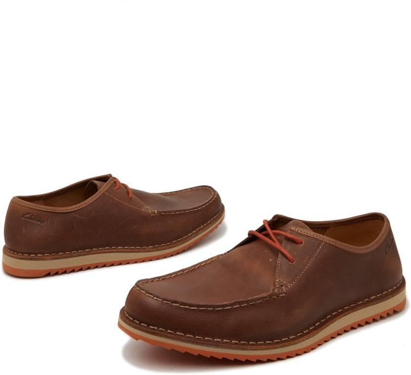 4bb61c5fce8 Clarks Maxim Edge Boat Shoes For Men - Buy Dark Brown Color Clarks ...