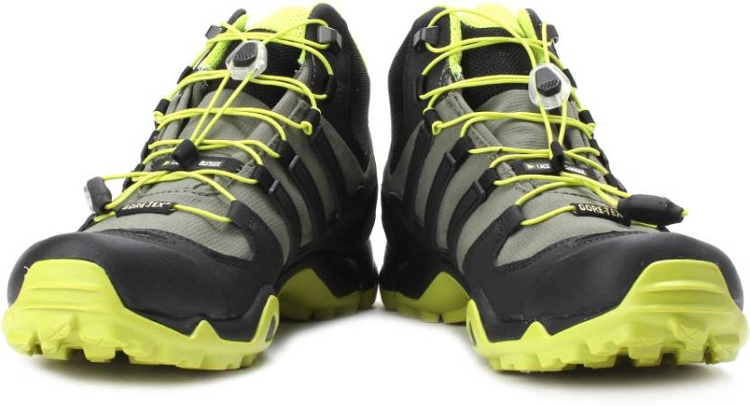 3f6c060eae028 ADIDAS Terrex Swift R Mid Gtx Men Hiking   Trekking Shoes For Men (Olive)