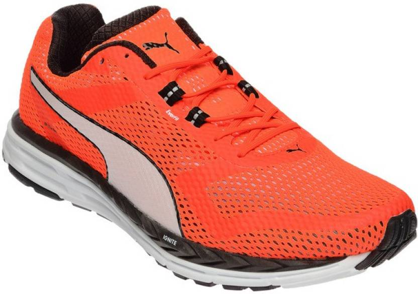 Puma Speed 500 IGNITE Running Shoes For Men - Buy Red Blast-Puma ... 1d4757d3f