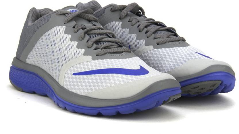 d62edc1041d Nike FS LITE RUN 3 Running Shoes For Men - Buy WOLF GREY RACER BLUE ...
