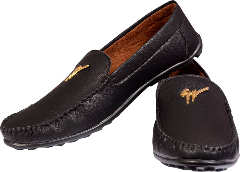 d55e4b4072c kashish Products Loafers For Men - Buy Black Color kashish Products ...