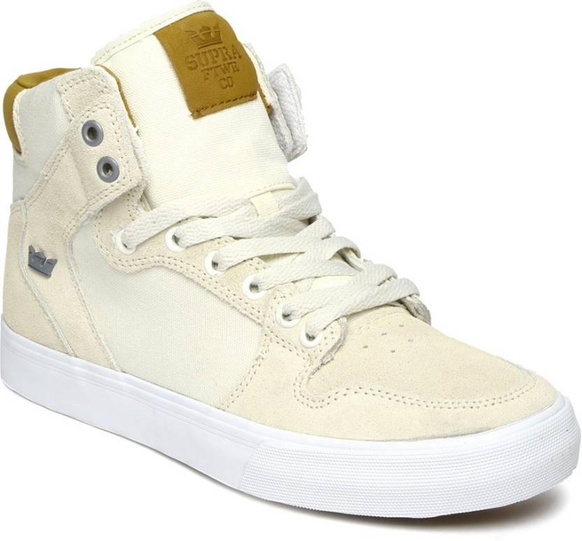 aed3ceecfa Supra Casual Shoes For Men - Buy White Color Supra Casual Shoes For ...