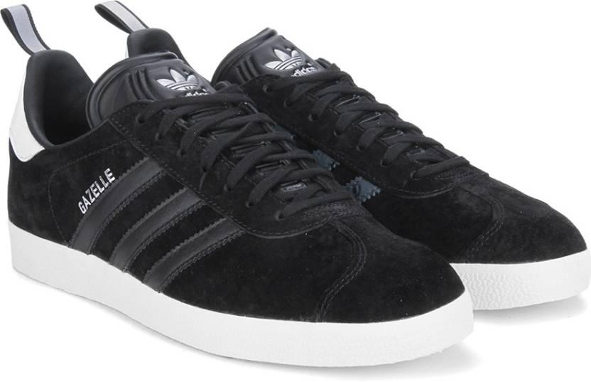 new arrival d879d 3aebe ADIDAS ORIGINALS GAZELLE Sneakers For Men (Black)