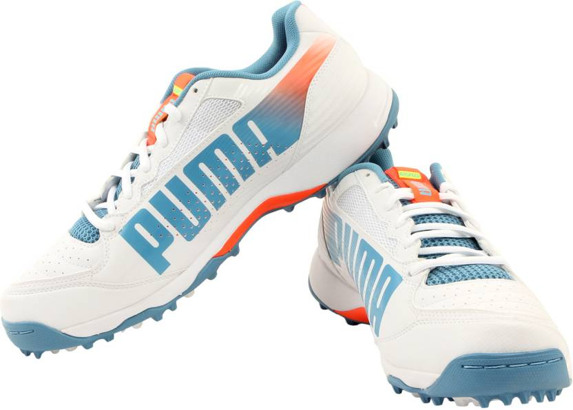 Puma Evospeed Cricket Rubber 32 Running Shoes For Men - Buy White ... 80df1e35a