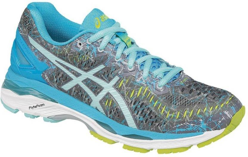 a3cdd7653f6f Asics GEL-KAYANO 23 Running Shoes For Women - Buy SHARK ARUBA BLUE ...