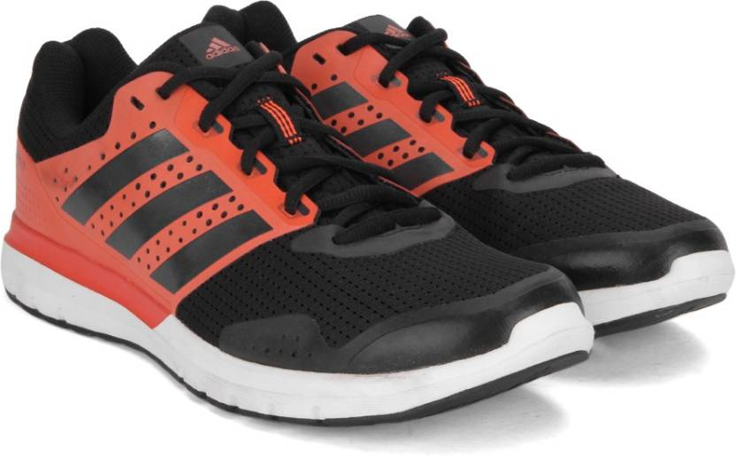 info for f5ee6 35935 ADIDAS DURAMO 7 M Running Shoes For Men (Black, Red)
