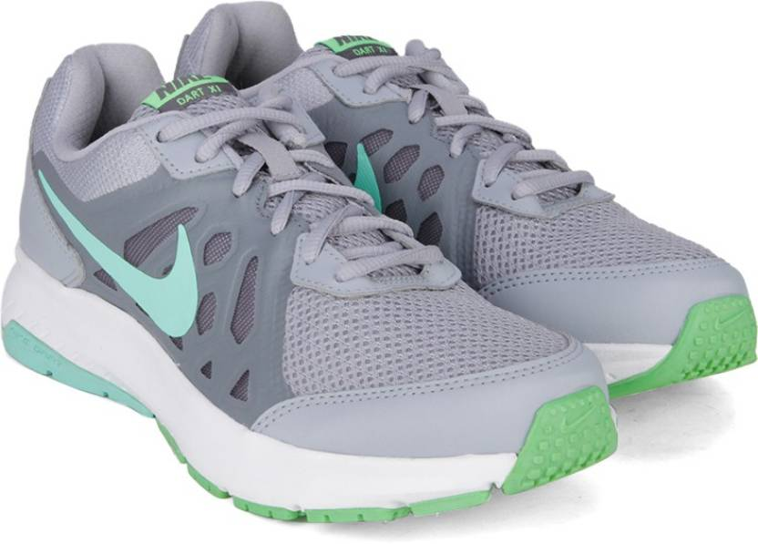 07a9118990c Nike WMNS DART 11 MSL Running Shoes For Women - Buy Wolf Grey Green ...