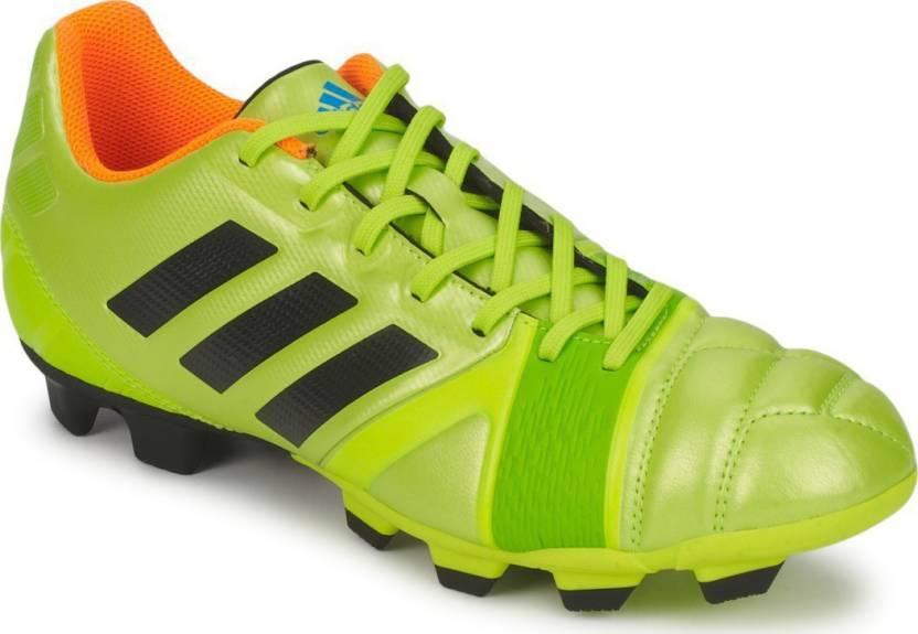 cheap for discount e166c 0e202 ADIDAS NITROCHARGE 3.0 TRX FG Football Shoes For Men (Green)