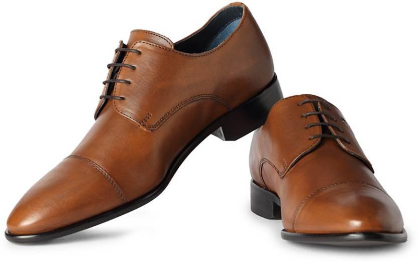 a7f8c12ef Louis Philippe Lace Up Shoes For Men - Buy Brown Color Louis ...