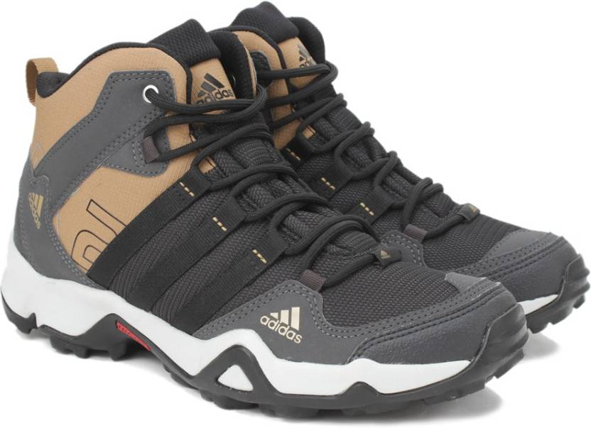 Adidas Ax2 Mid Outdoor Shoes For Men Buy Dgsogr Crakha Black Color