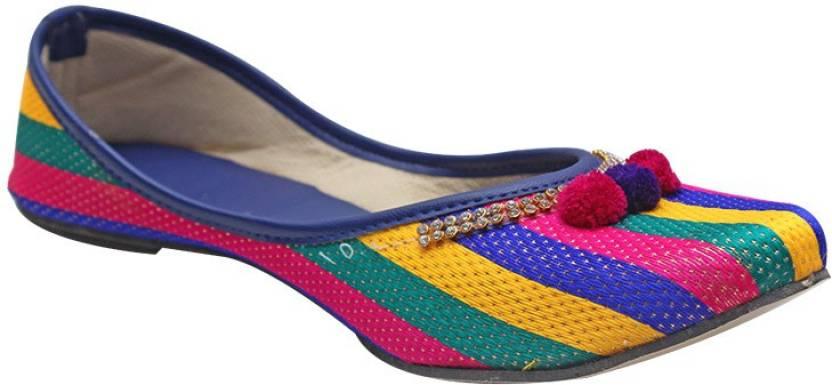 d45f10917 Port Ladies punjabi Jutti Casual shoe For Women - Buy Multicolor ...