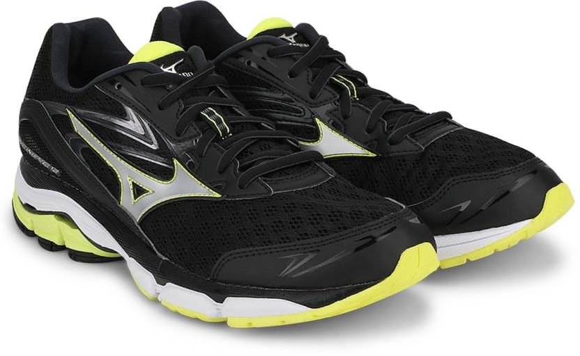 63d4b63a022f Mizuno Wave Inspire 12 Running Shoes For Men - Buy Black, Silver ...