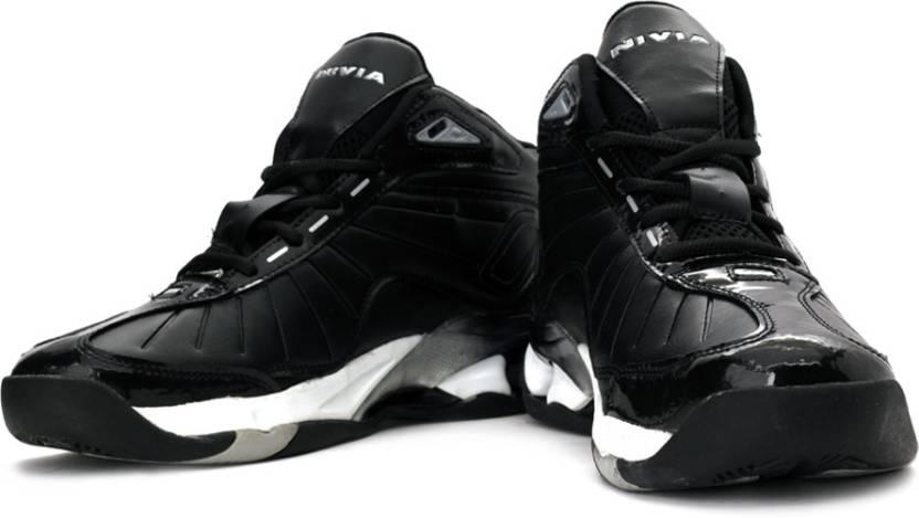 97df3d431 Nivia Combat Basketball Shoes For Men - Buy Black Color Nivia Combat ...