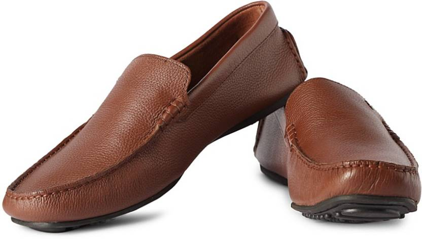 53d00f19aee Louis Philippe Loafers For Men - Buy Brown Color Louis Philippe ...