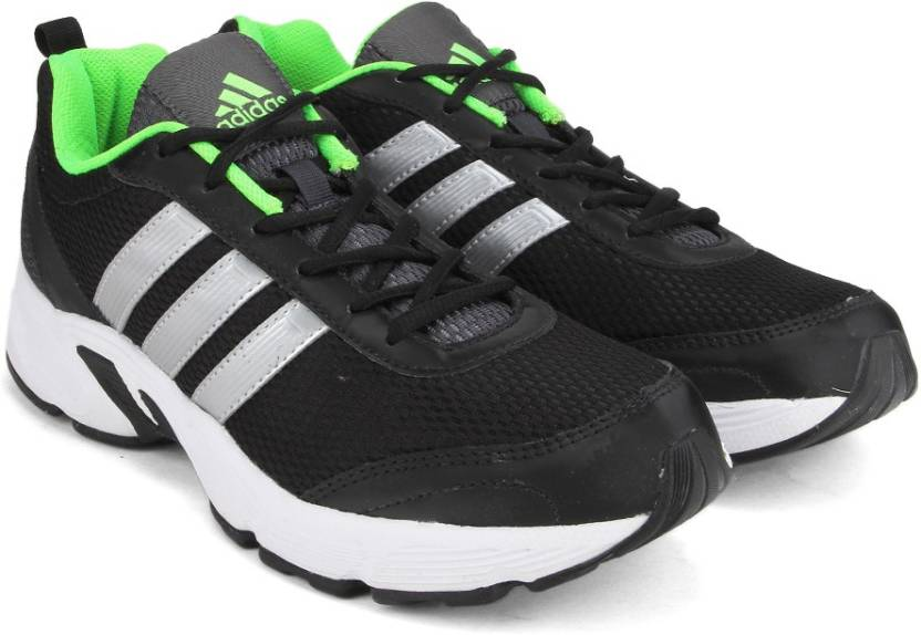 dbbe67d9ce408 ADIDAS ALBIS 1.0 M Men Running Shoes For Men (Black, Green, Silver)