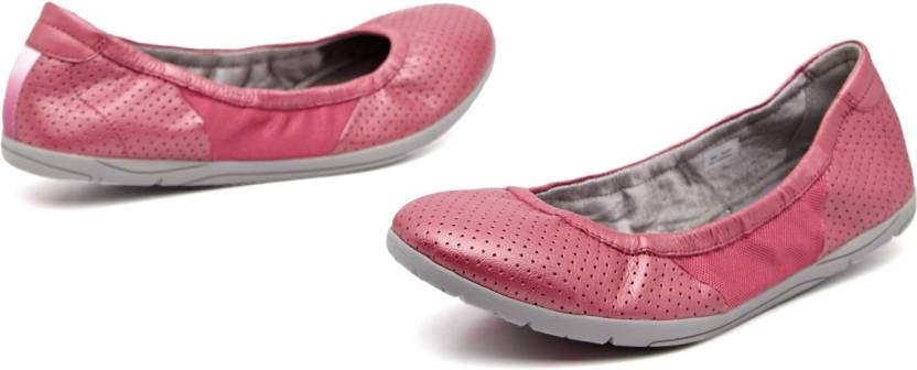 b9bed2b069d Clarks Illya Shine Bellies For Women - Buy Dark Pink Color Clarks ...