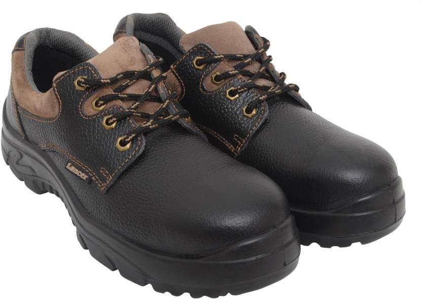 a59373f8b2a Lancer Safety Shoes with Steel Toe Cap Outdoors For Men