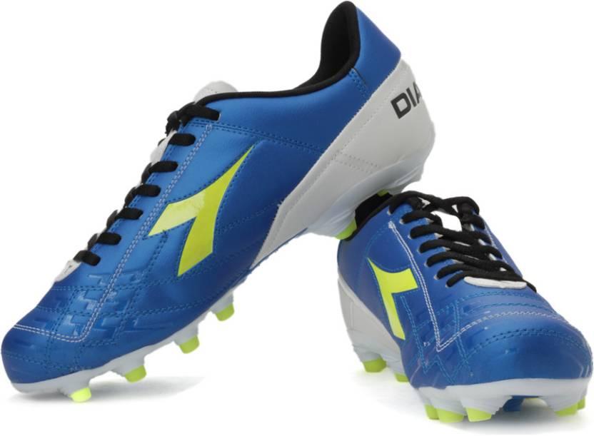 31e0330ac Diadora Dd-Evoluzione 2 Football Shoes For Men - Buy Blue White ...