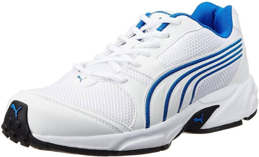 6d5cc41bed3067 Puma Neptune DP Running Shoes For Men - Buy White, Bright Cobalt ...
