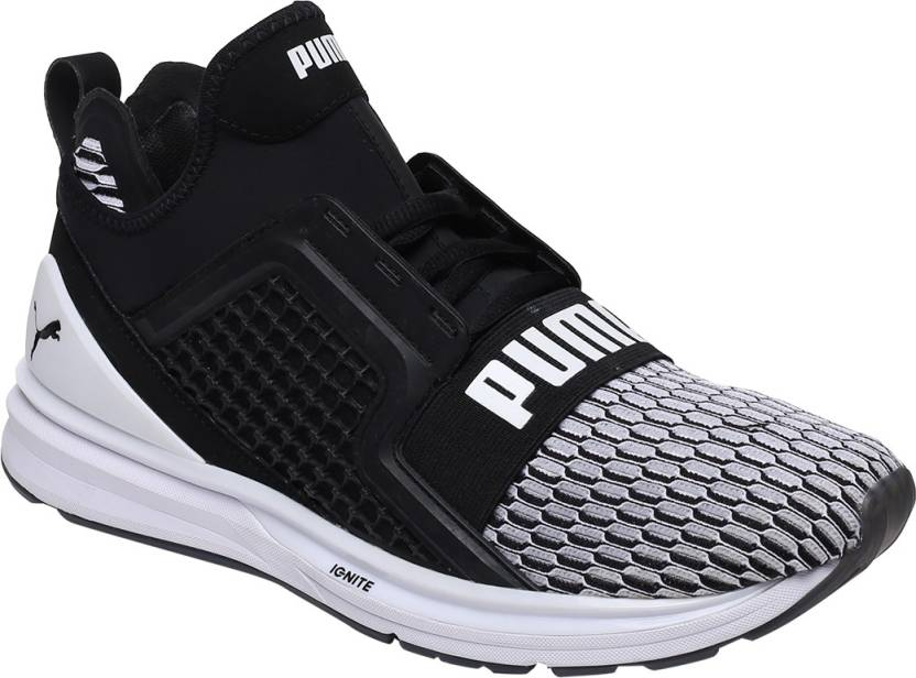Puma IGNITE Limitless Colorblock Running Shoes For Men - Buy Black ... d5f89477e