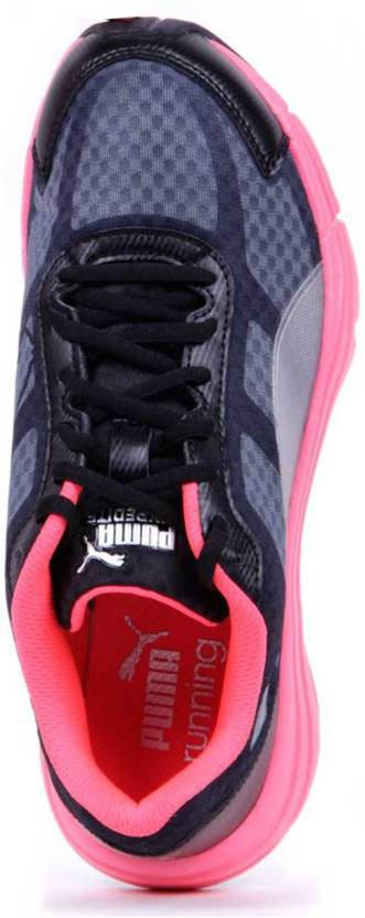 Puma Expedite Wn Running Shoes, Training & Gym Shoes For Women(Black, Pink)