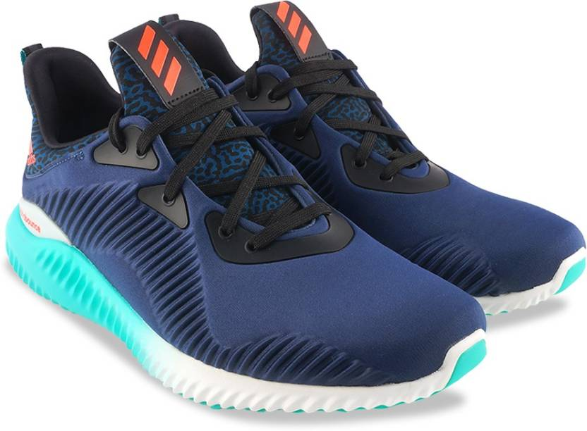 Adidas ALPHABOUNCE M Running Shoes For Men - Buy MINBLU/SOLRED ...