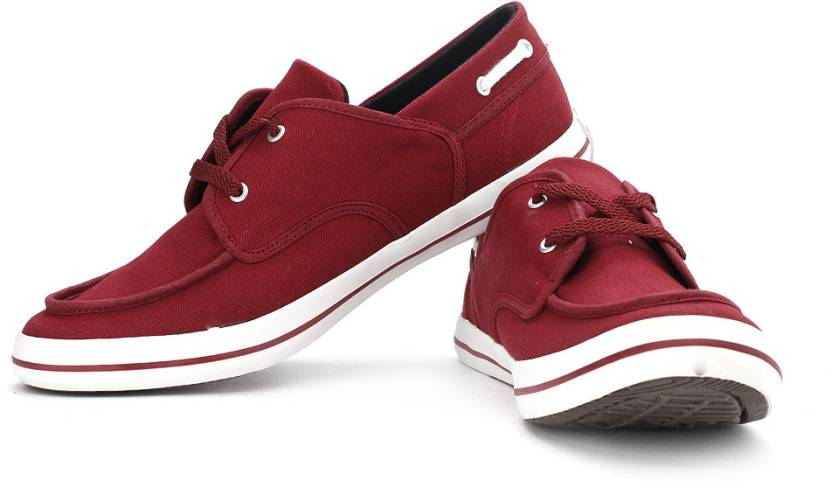 Converse Sneakers For Men Buy Maroon Color Converse Sneakers For
