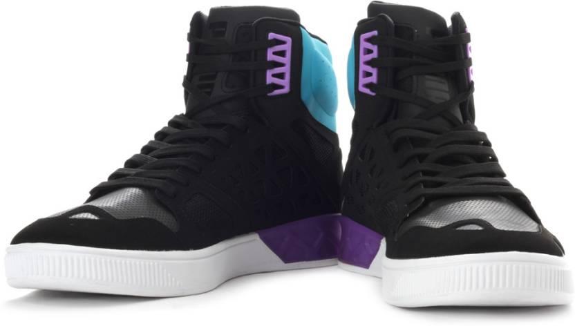 6a79d632cf7e3a Puma Future Basket Hi High Ankle Sneakers For Men - Buy Black
