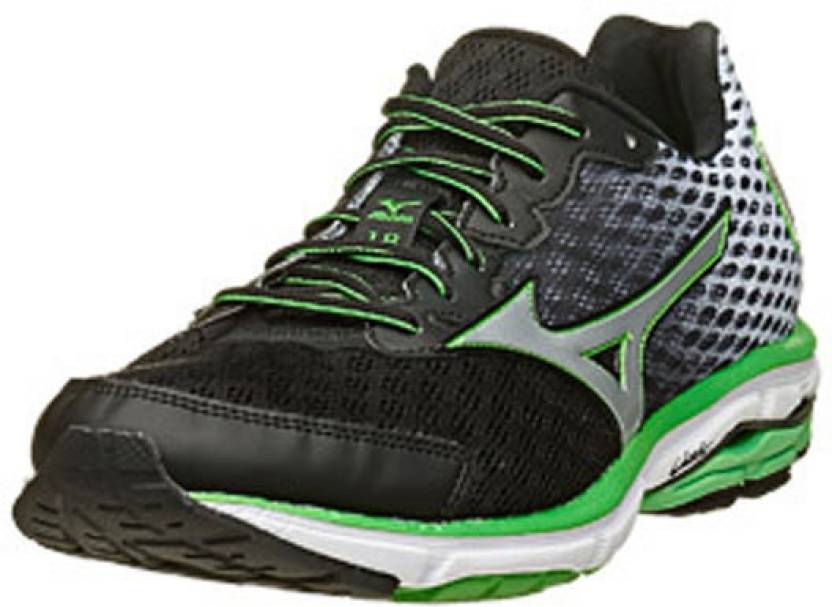 online store 46e38 45120 Mizuno Wave Rider 18 Men's Running Shoes For Men - Buy Black ...