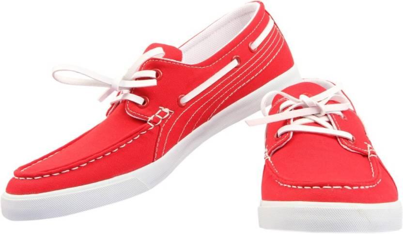d8f28ad2d694cb Puma Yacht CVS IDP Boat Shoes For Men - Buy High Risk Red Color Puma ...