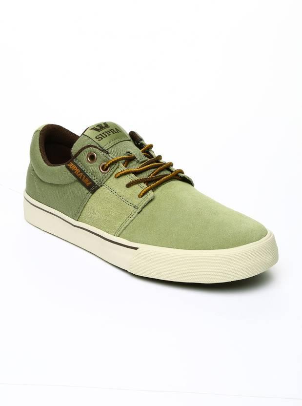 fb2e2306b1 Supra Casual Shoes For Men - Buy Green Color Supra Casual Shoes For ...